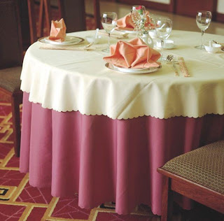 Multinotas manteles para mesas redondas for Manteles de papel para fiestas