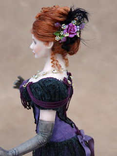 Chantelle Miniature Doll Side View Close Up