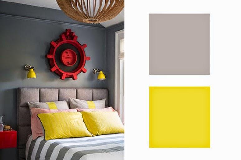 Antic chic decoraci n vintage y eco chic get the look for Colores que pegan con el gris