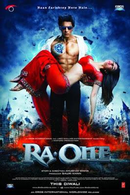 Ra One (2011) DVD Rip 900 MB movie poster, Ra One (2011) DVD Rip 900 MB dvd cover poster, Ra One movie poster