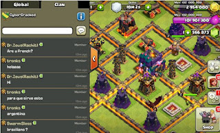 Download Ubdate Clash Of Clans Mod Server Thunderbolt v7.200.13
