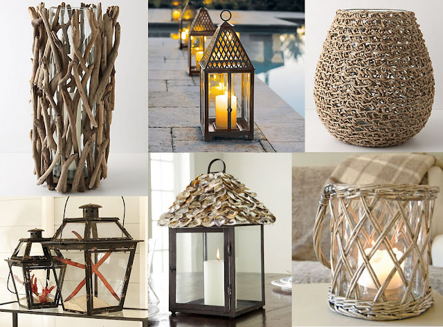 Outdoor Lanterns - Outdoor Candles - Flameless Outdoor Candles
