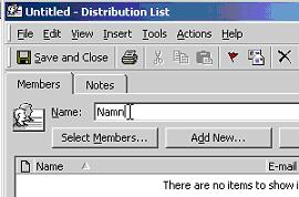 how to create a global distribution list in outlook