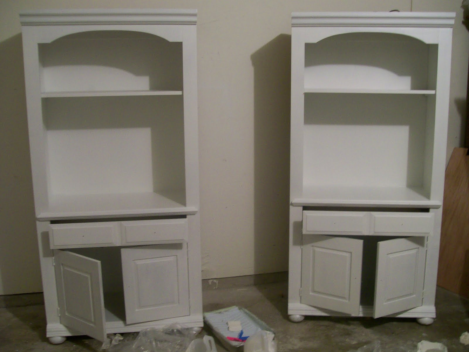 paint furniture without sandingThe Pear Tree Cottage How To Paint Particleboard  Laminate Furniture