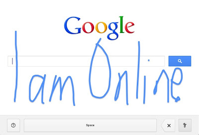 Handwrite, a new way to search on Google