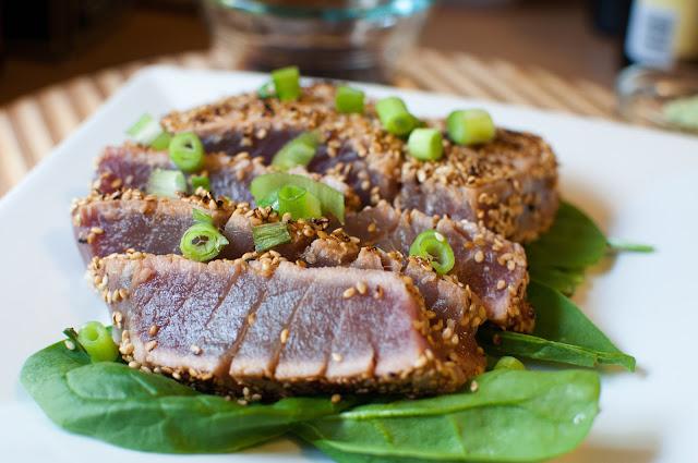 not quite gourmet: Sesame Seared Ahi Tuna