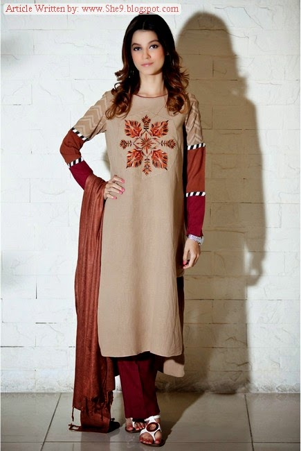 Maria-B Winter-Fall Dress Collection 2014-2015