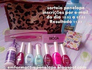 Sorteio! 11/03!!!