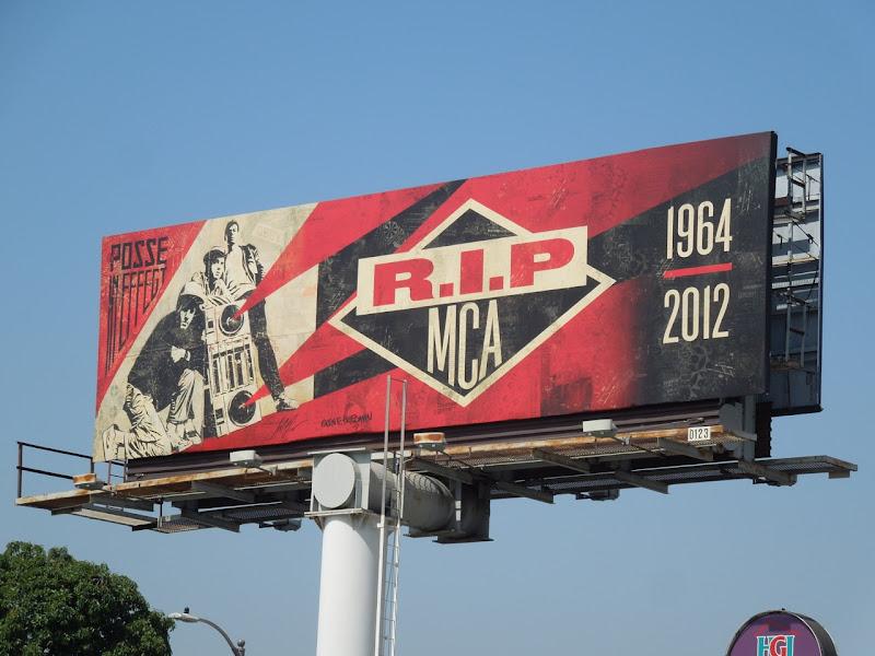 RIP Beastie Boy MCA billboard