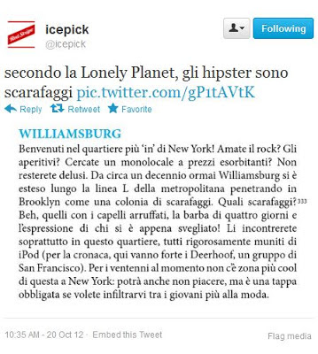 Lonely hipster planet