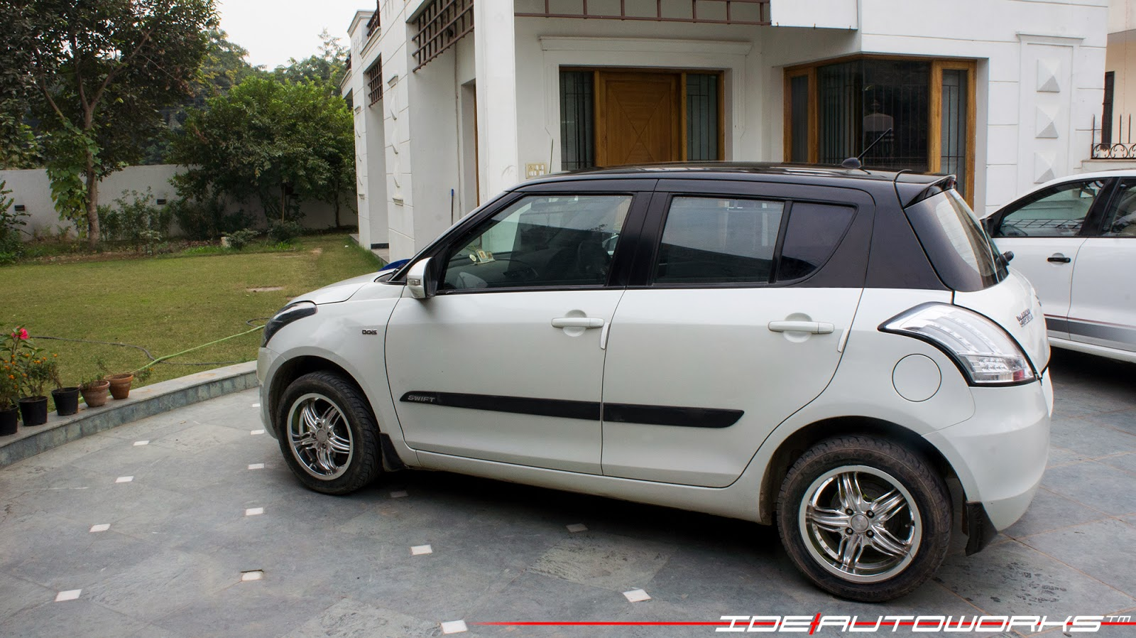 maruti suzuki swift two tone ide autoworks