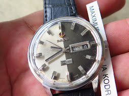 RADO STARLINER SILVER BLACK DIAL - AUTOMATIC