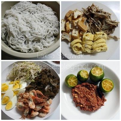 resepi laksa sarawak. Resepi: Laksa Sarawak .