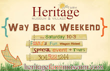 Heritage Farm Event Sign
