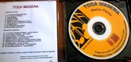 Pistas - CD Toca Madera