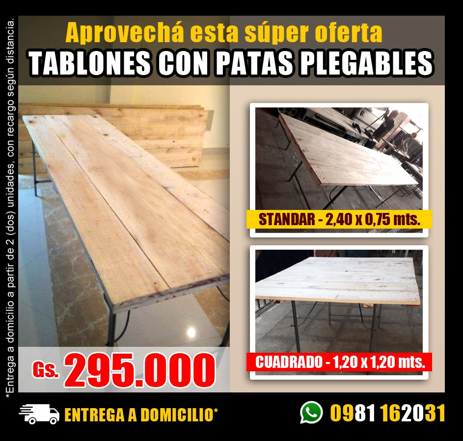 FABRICA de TABLONES