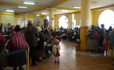 Discriminación en Bolivia