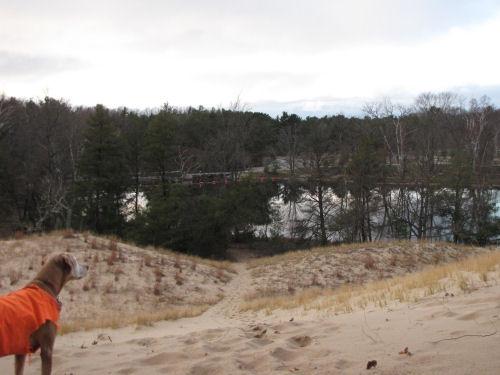 Hamlin Lake Dam
