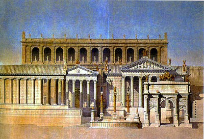 Peradaban Arsitektur Romawi Kuno