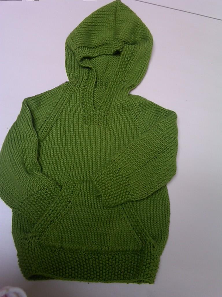 Wallaby Hoodie Knitting Pattern : Old Lady Knitting