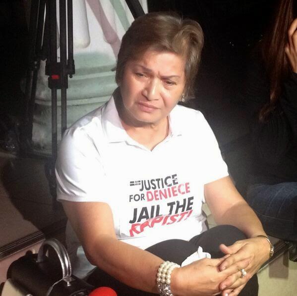 Deniece Cornejo's grandma Florencia Cornejo 'Justice for Deniece'