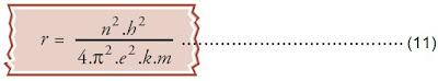 jari-jari lintasan elektron