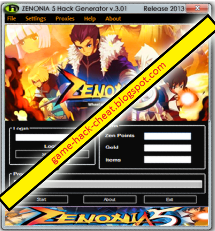 Zenonia 5 Hack Tool July 2013 No Survey – Free Download Cheats