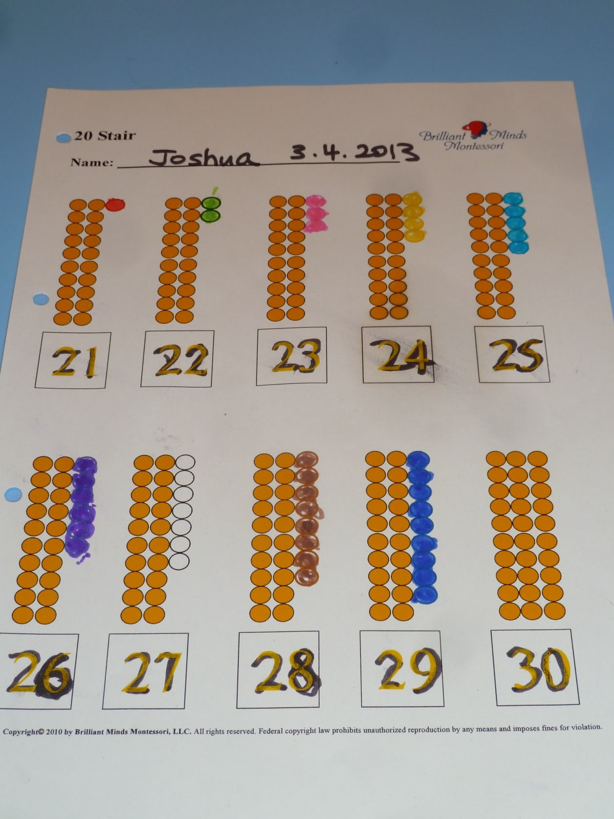 Uncategorized Montessori Math Worksheets family fecs april 2013 i like brilliant minds montessori maths curriculum for its simplicity and clarity it is a good systematic way to teach counting number recognition