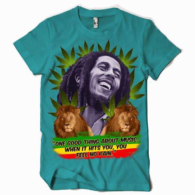 bob marley tshirts