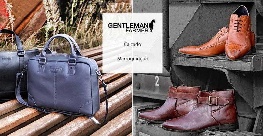 Marroquineria y calzado para hombre, de una gran marca, en oferta.