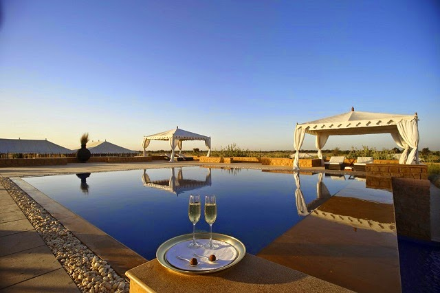 The Serai in Jaisalmer - The  luxurious desert camp and spa