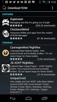 ROM Manager Premium Apk Free Download