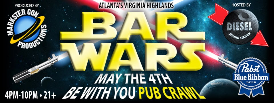 BAR WARS: May The 4th Be With You