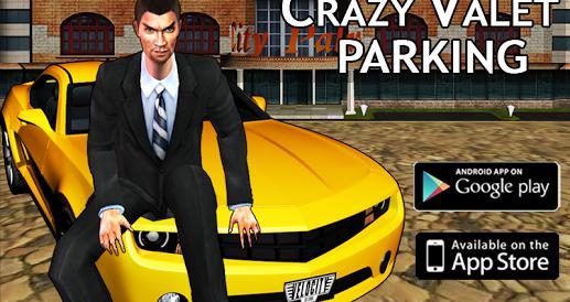 crazy valet parking king 3d İndir - android araba park etme oyunu