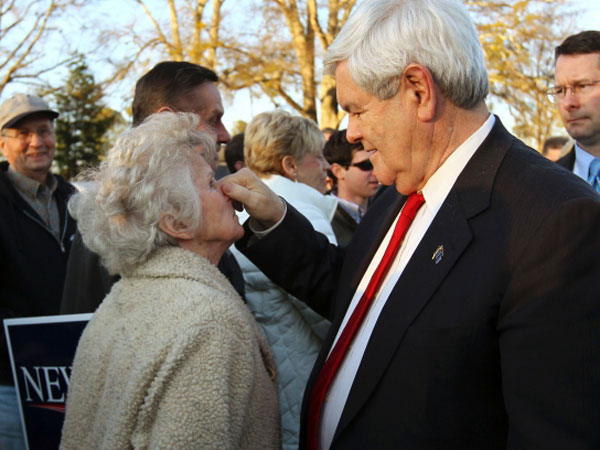 newt gingrich 011912 m 600x450 ... told my story as a gay airman on national television for the first time.