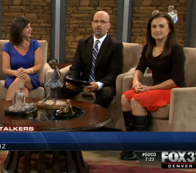 Denver News 7: THE APPRECIATION OF BOOTED NEWS WOMEN BLOG : A DELIGHTFUL