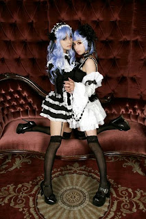 Vocaloid Anti the Holic Luka and Rin cosplay by Tasha and Ren