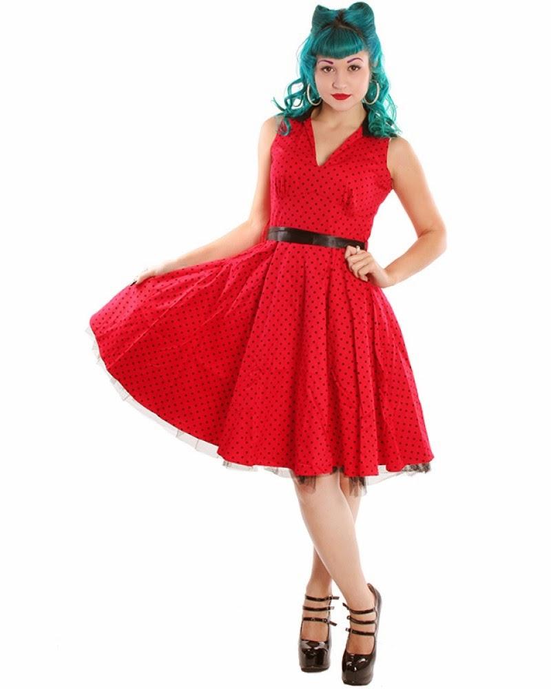 Colección de vestidos Pin Up
