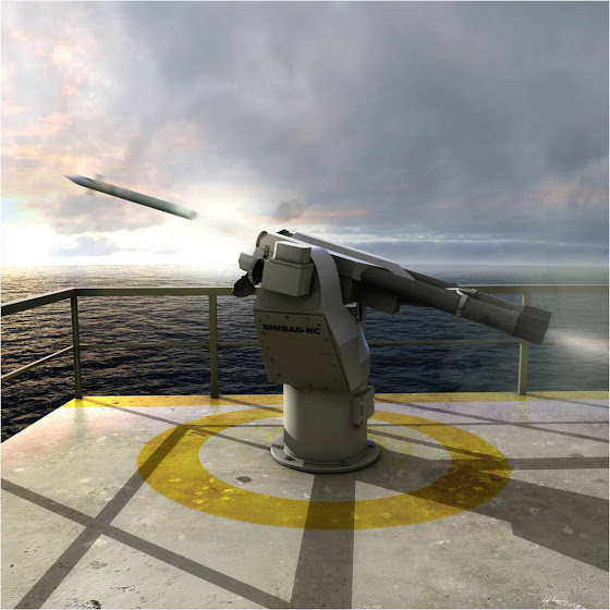 SIMBAD-RC ship self-defence system