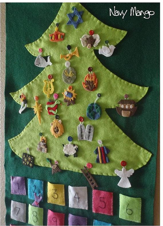 Jesse Tree Ornament Patterns Advent using a jesse tree,
