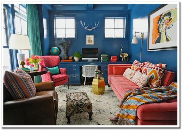 Màu sắc trong thiết kế nội thất 2016