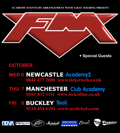 FM October 2010 tour dates