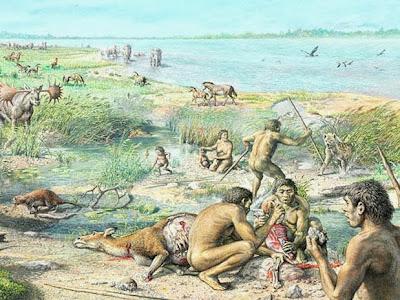 Canibais humanos, primeiros canibais, canibais, carnívoros humanos.