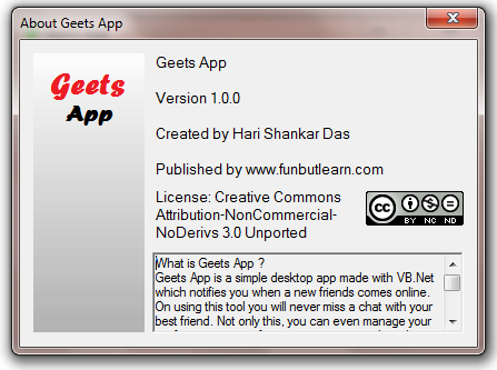 About Geets App