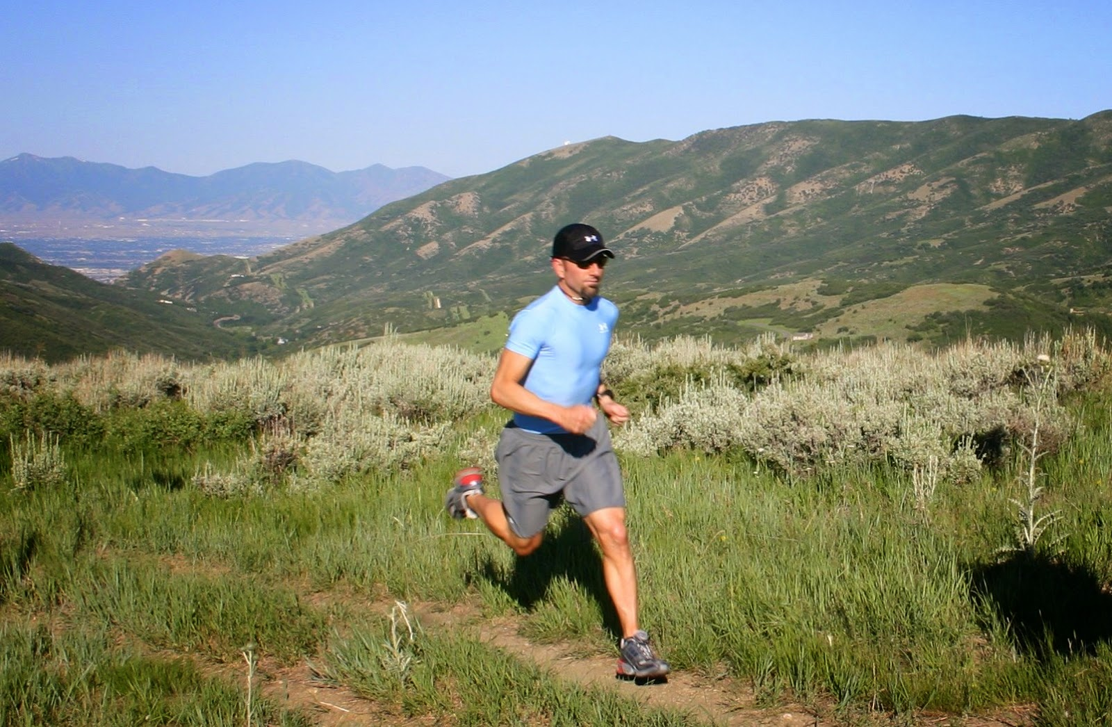 Trail running is one of the best exercises besides hiking to get you hiking ready.  Courtesy of Wikimedia