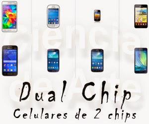 Celulares de 2 chips Samsung