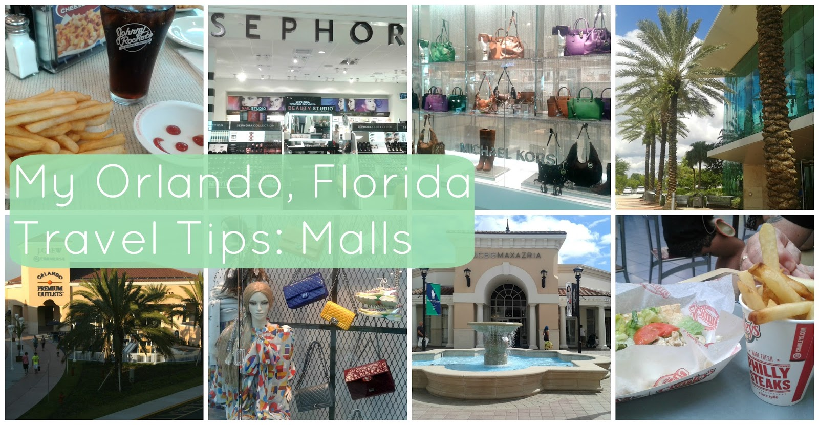 Orlando Florida Travel Tips Malls