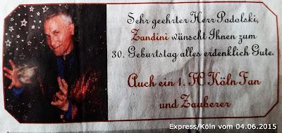 Express - Köln - Fundstück