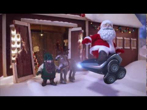 Santa Christmas electric razor animatedfilmreviews.blogspot.com