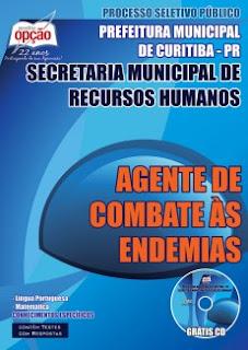 Apostila Prefeitura de Curitiba Agente de Saúde ACE.